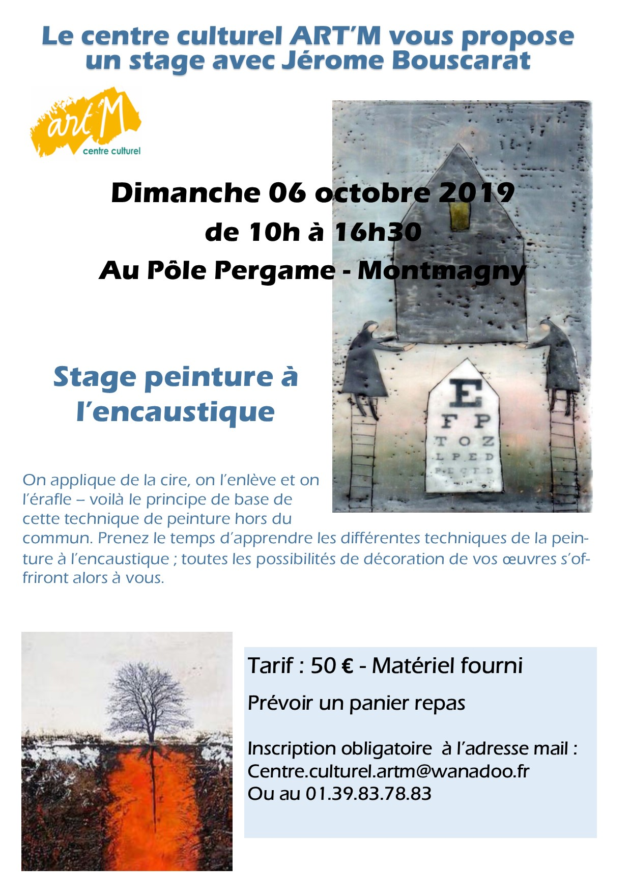 2019 Flyer stage Bouscarat 6 oct 19