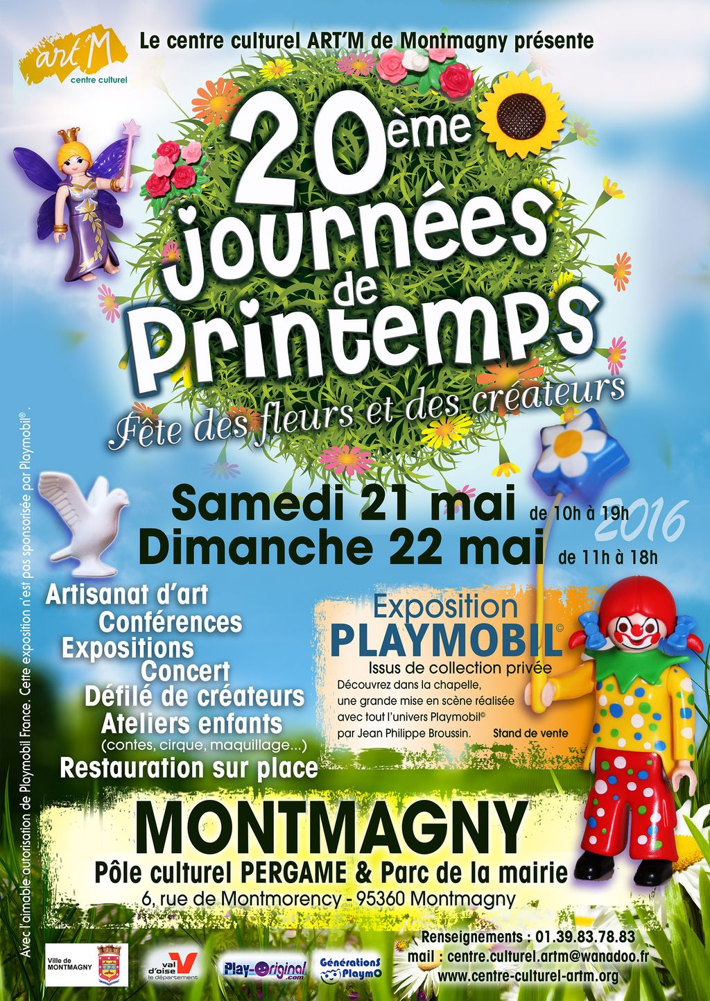 montmagny 20e journees de printemps 21 22 mai 2016